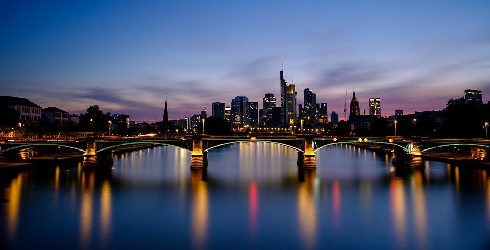 Skyline, Skyscraper, Skyscrapers, Bankenfirtel, City