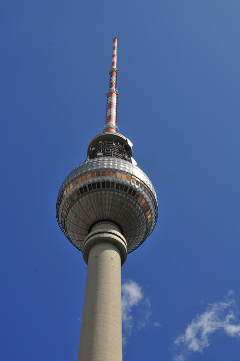 Germany, Berlin, Tv Tower, Architecture, Skyline, Tower
