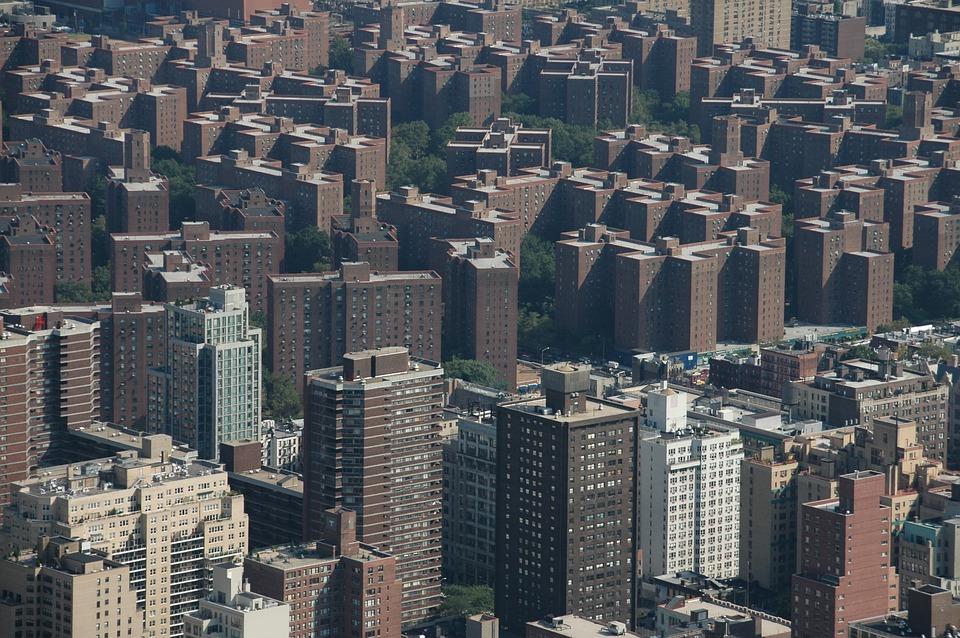 Urban, Bronx, New York, City, Skyline, New, York