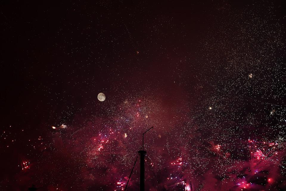Firework, Skyrocket, Rocket, Explosive, Festival