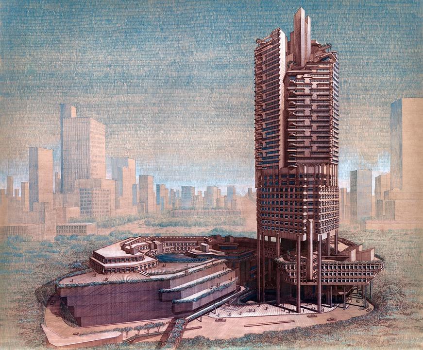 Singapore, Skyscraper, Building, Architecture