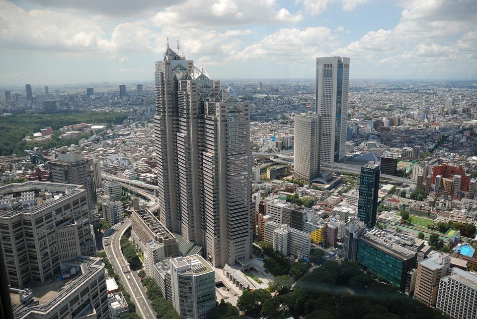 City, Building, Skyscraper, Japan, Tokyo, Shinjuku