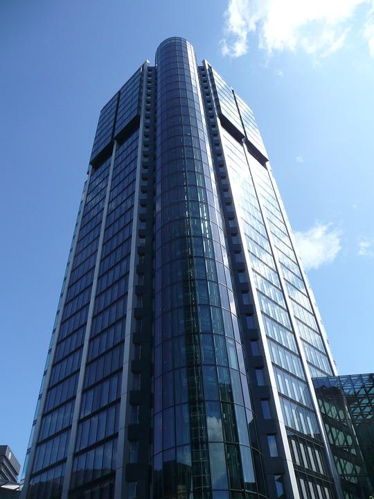 Frankfurt, City, Skyscraper, Financial District