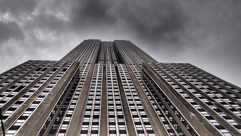 Skyline, New York, Empire State Building, Skyscraper