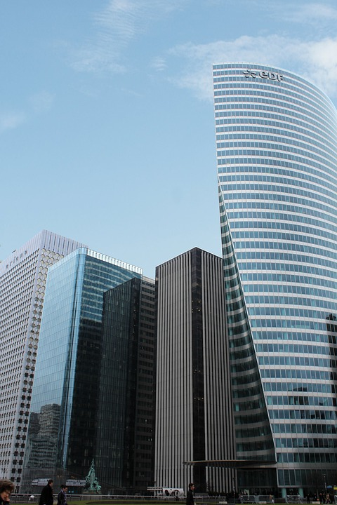 Paris, Skyscraper, Architecture, Building, Facade