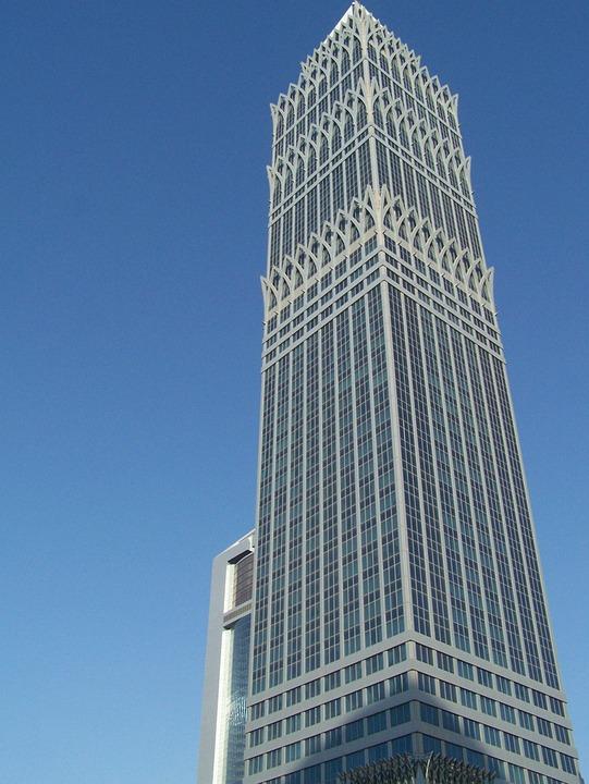 Dubai, Architecture, Building, Skyscraper, Luxury