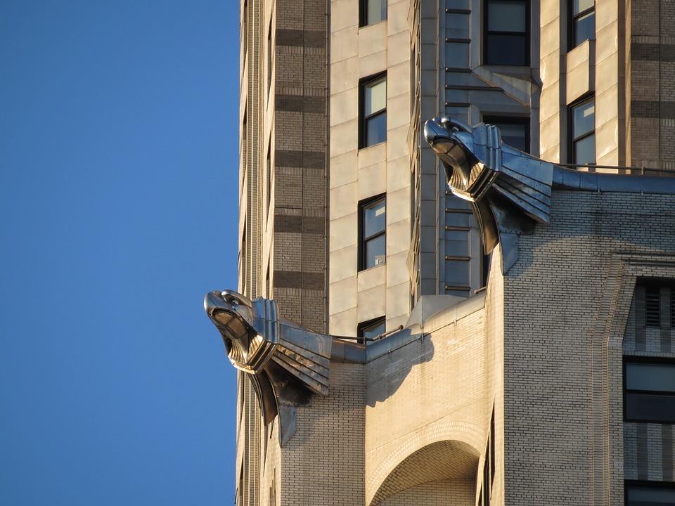 Chrysler Building, Gargoyles, New York, Skyscraper
