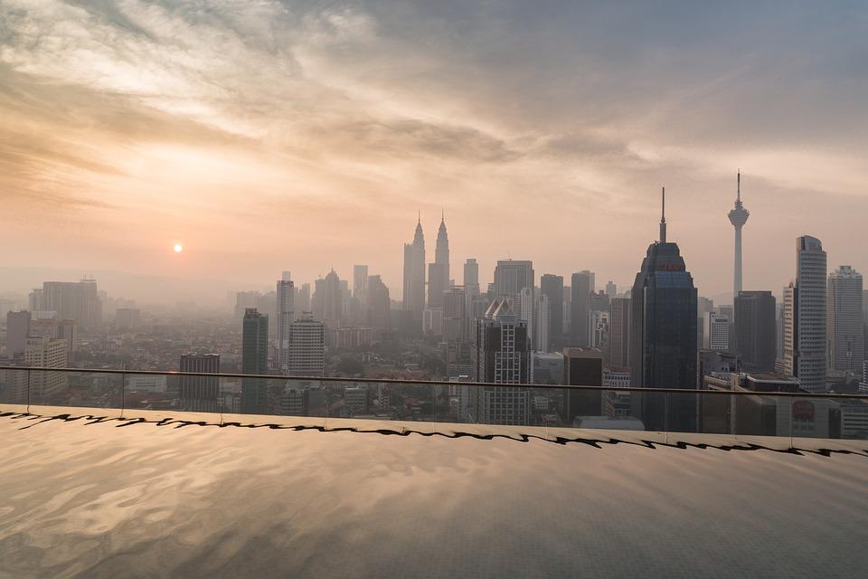 Skyscraper, Malaysia, Architecture, City, Sky, Petronas