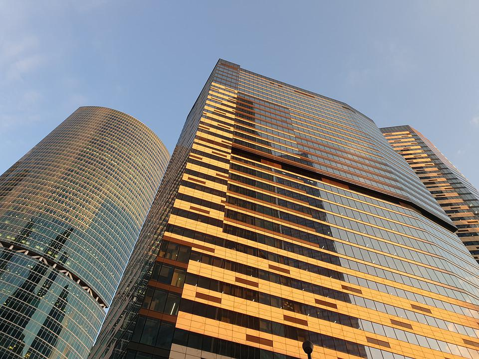 Moscow City, Tower, Russia, Architecture, Skyscraper