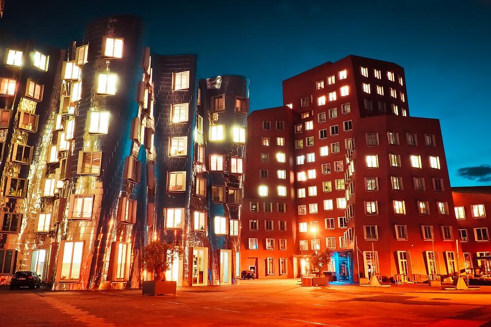 Architecture, Skyscraper, Skyline, Modern, City, Sky