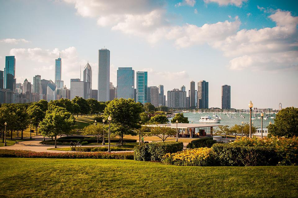 Skyscraper, Skyline, City, Panoramic, Cityscape