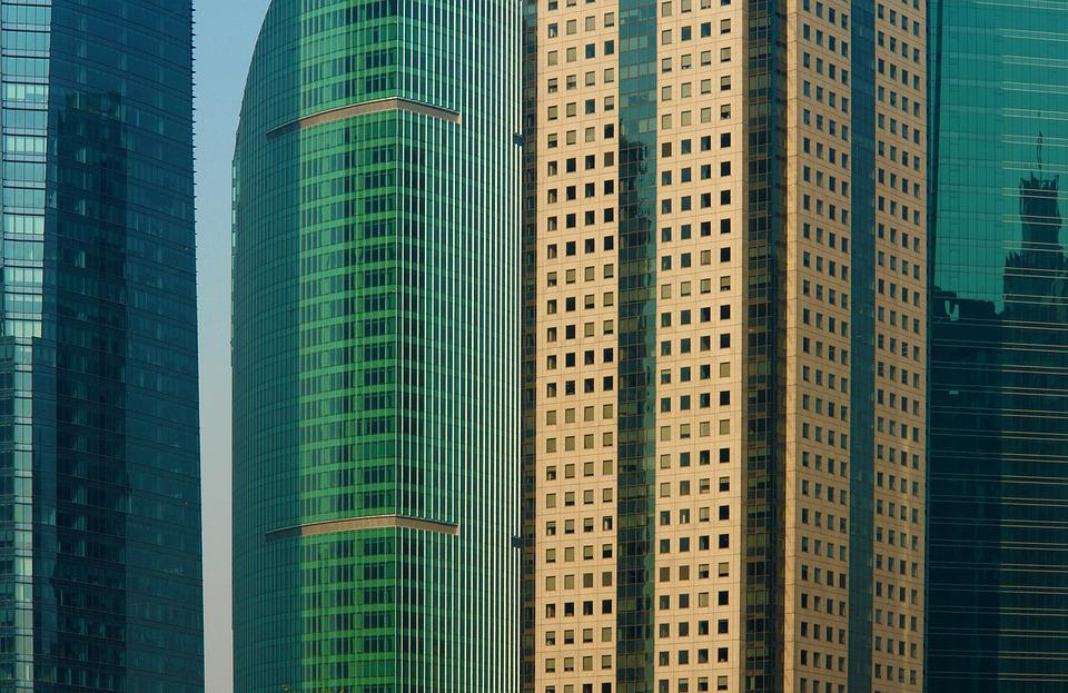 Skyline, Skyscrapers, Skyscraper, Architecture
