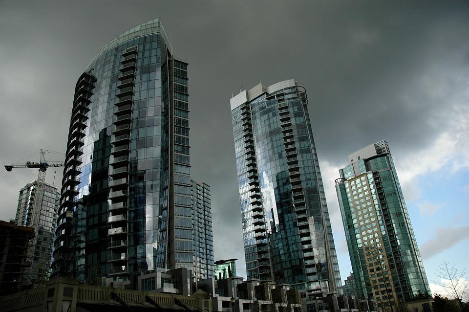 Vancouver, Skyscraper, Canada, British Columbia, City