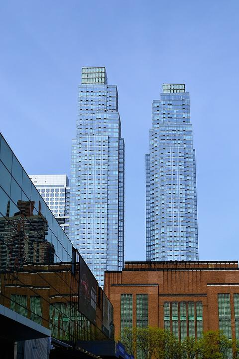 Skyscrapers, New York City, Manhattan, Buildings