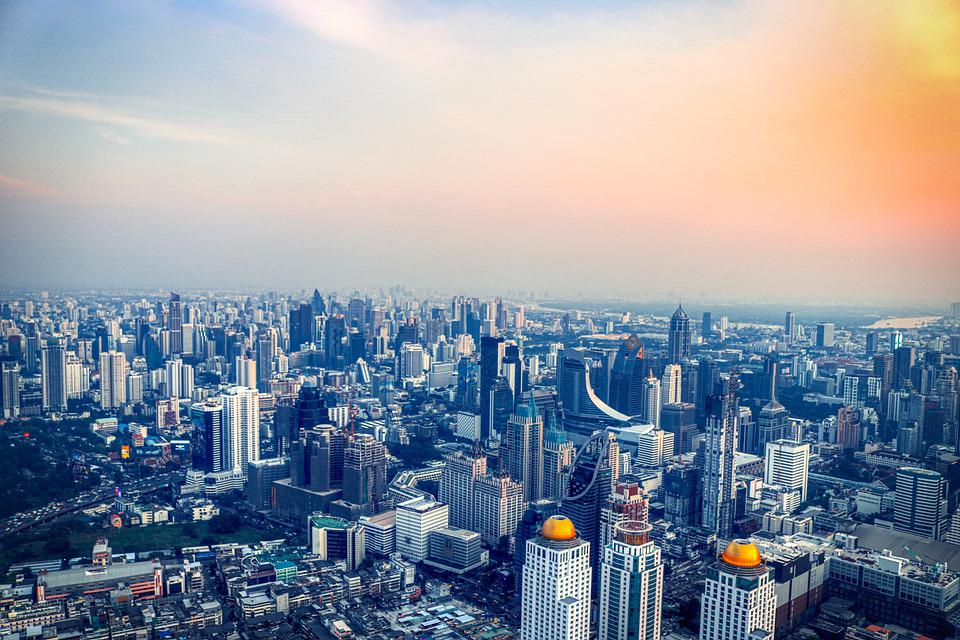 Skyline, City, Buildings, Skyscrapers, Cityscape, Urban