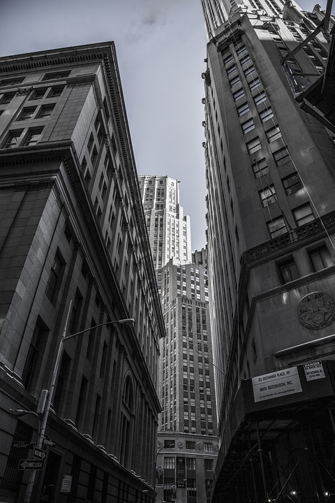 Skyscrapers, New York, City Centre, Metropole