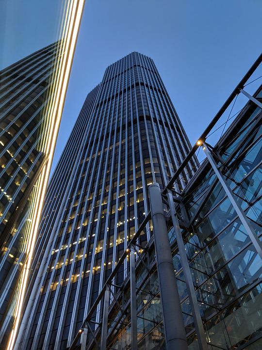 London, City, Towers, Skyscrapers
