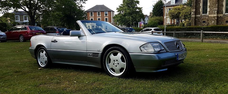 Mercedes Sl, Sl600, Convertible