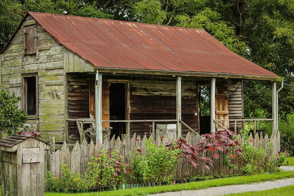 Slave Cabin, Laura Plantation, Louisiana, Slave House
