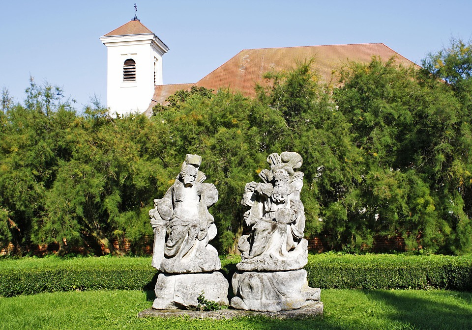 Statuary, Church, Slavkov Gardens