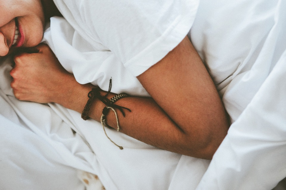 People, Bed, Sleeping, Sheets, Bedroom, Arm, Bracelet