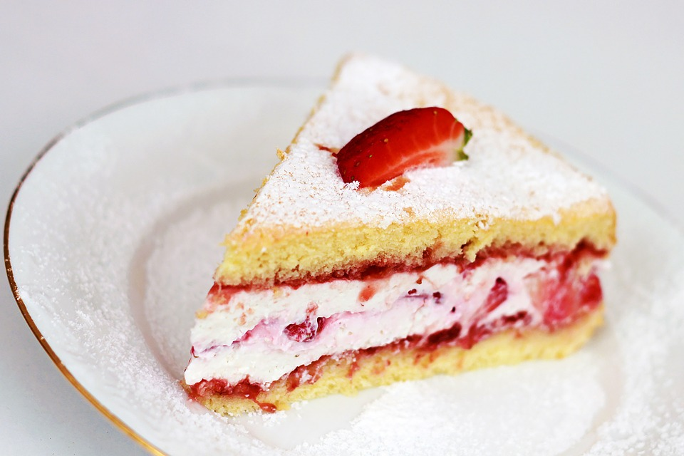 Sweets, Cake, Food, Strawberry Cake, Slice Of Cake