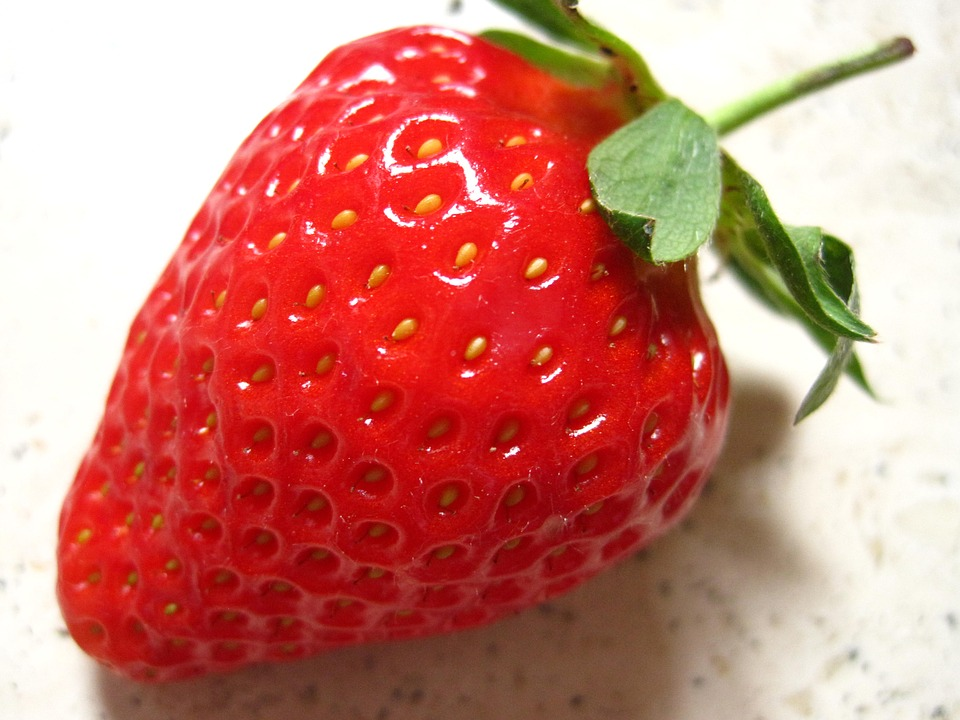 Strawberry, Fragaria, Slip Fruit, Food, Fruit