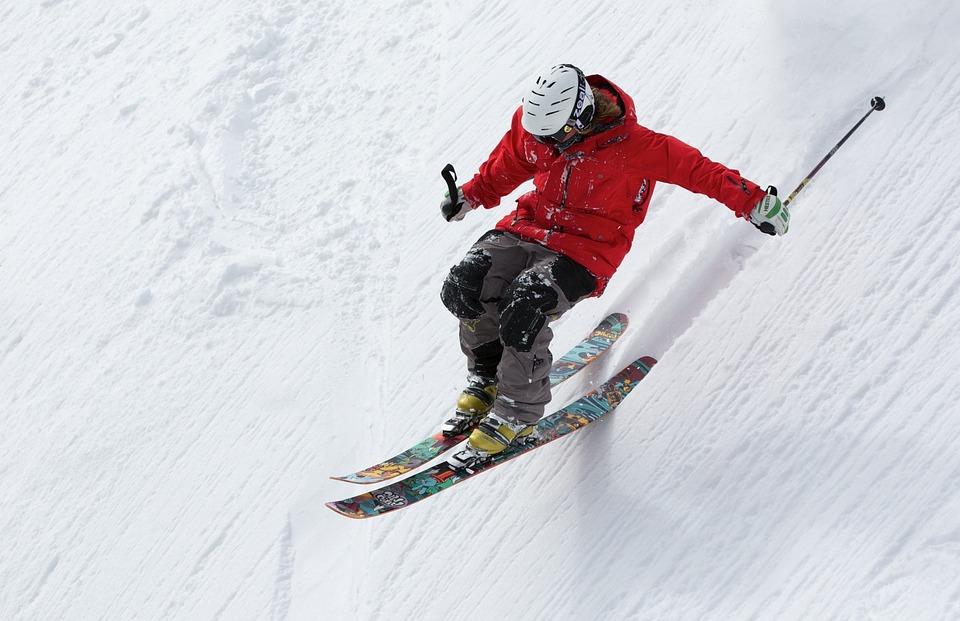 Man, Skier, Ski, Skiing, Snow, Slopes, Snow Slopes