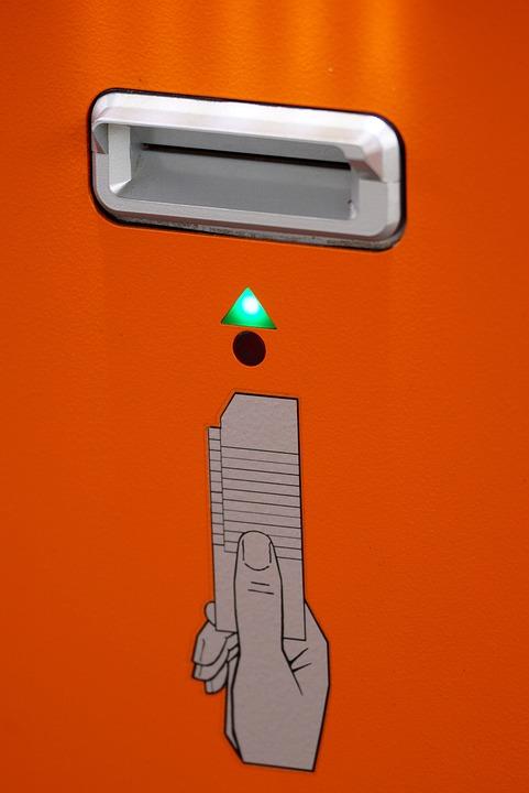 Automatic, Slot, Ticket, Devaluation, Signal Lamp