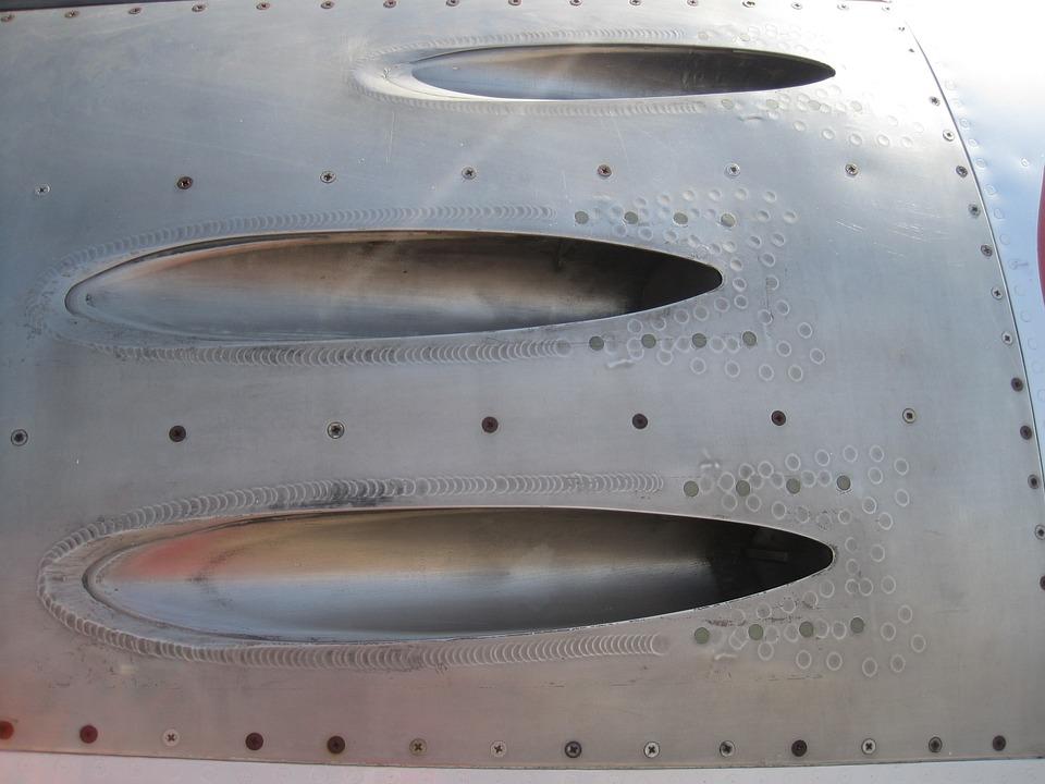 Aircraft, Jet, Fuselage, Metal, Silver, History, Slots