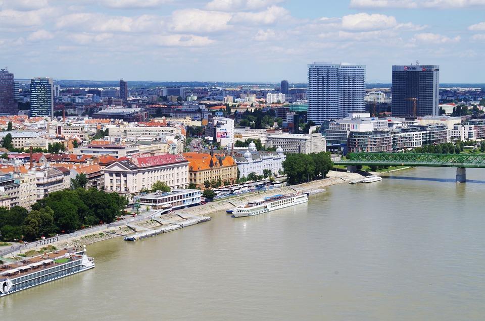 Bratislava, Slovakia, City, Danube