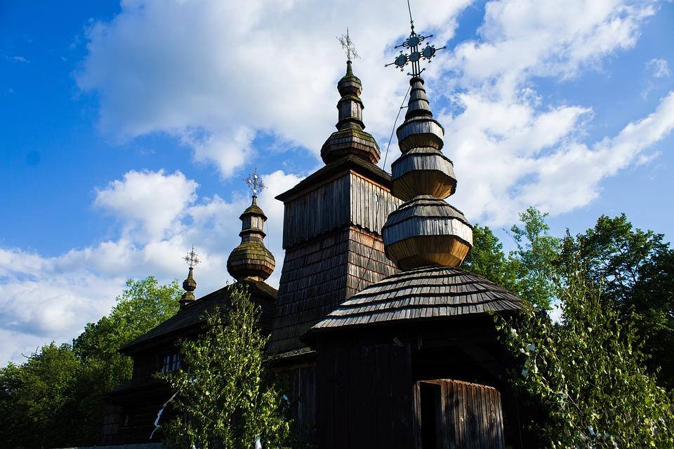 Church, Wooden Church, Architecture, Slovakia, The Sky