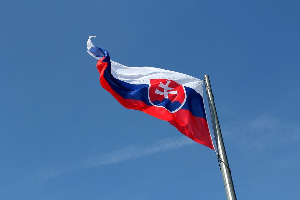 Flag, Pledge, Symbol, Mast, Dvojkríž, Slovakia