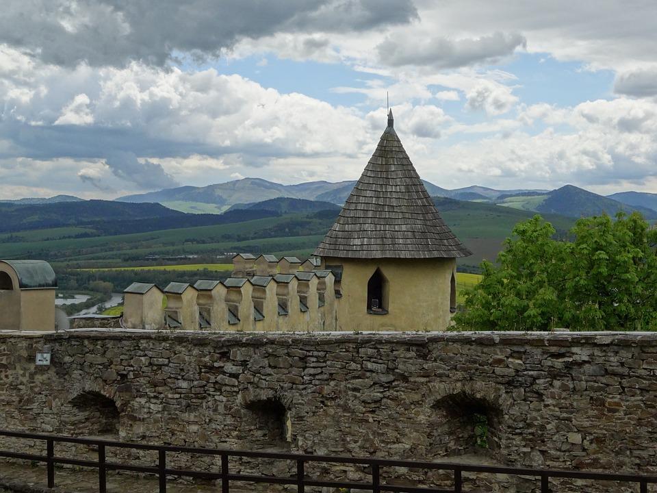 Old Lubovnia, Slovakia, Castle, The Spiš Castle