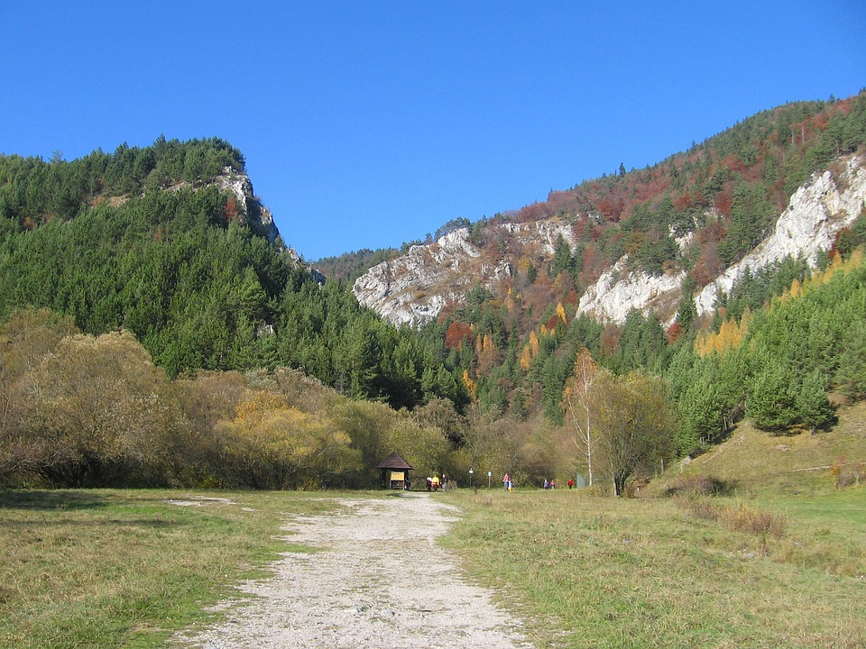 Slovakia, Sky, Clouds, Mountains, Valley, Ravine