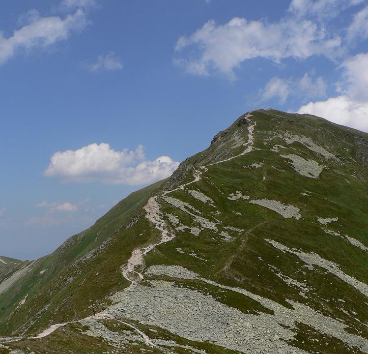 Slovakia, Tatry, Roháče, Volovec, Mountains