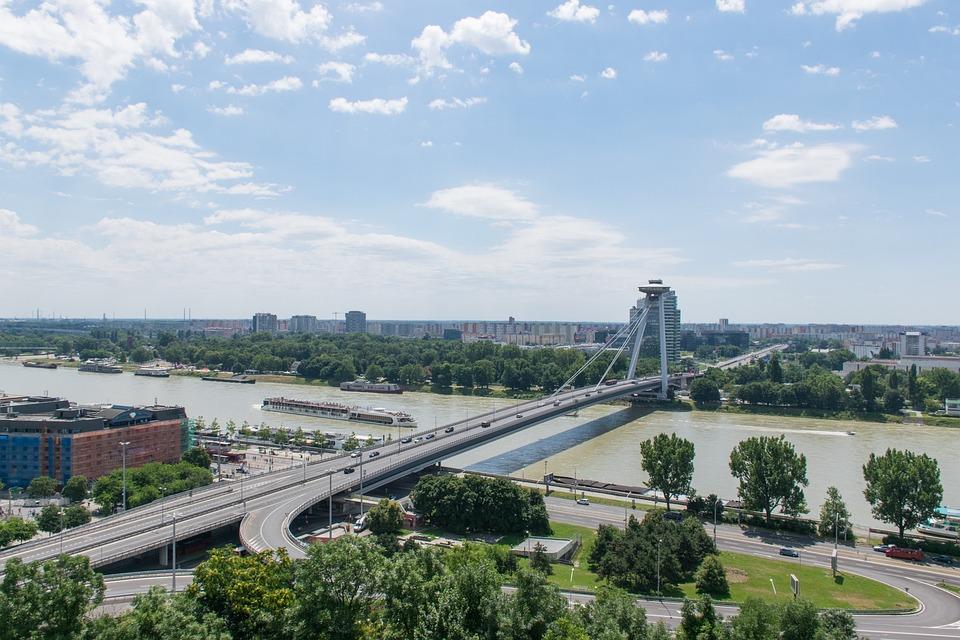Bratislava, Slovakia, Ufo, Danube