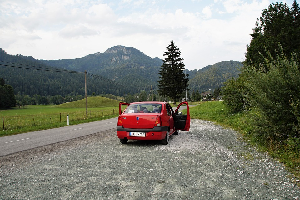 Slovenia, Jezersko, Mountains, Alps, Path, Road