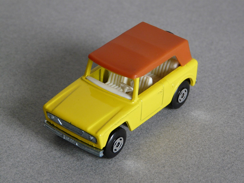 Toy, Small Cars, Scale Models, Miniature Cars, Yellow