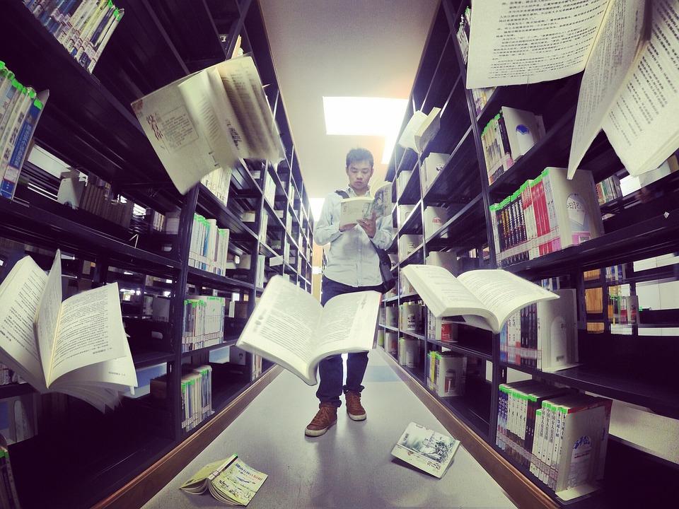 Library, Small Fresh, Big Data, Books, Gravity