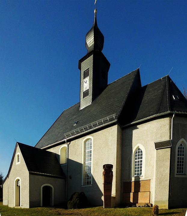 Church, Village Church, Small Hard Man Village