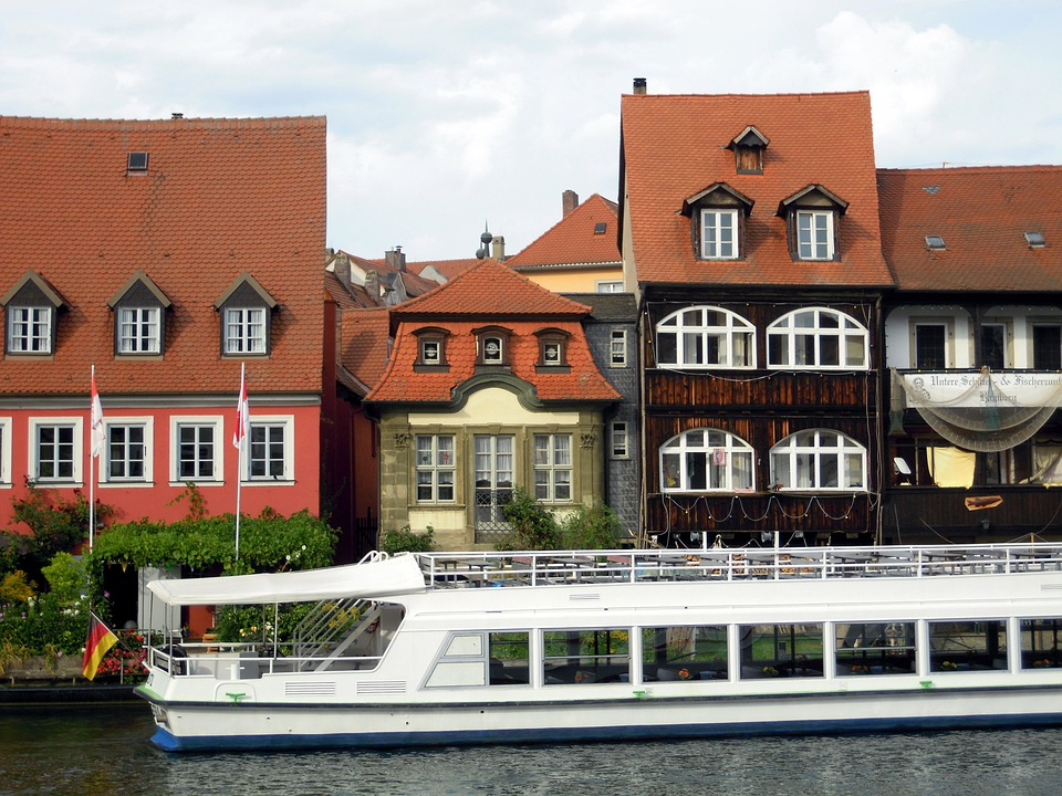Small-venice, Bamberg, Regnitz, Water, River