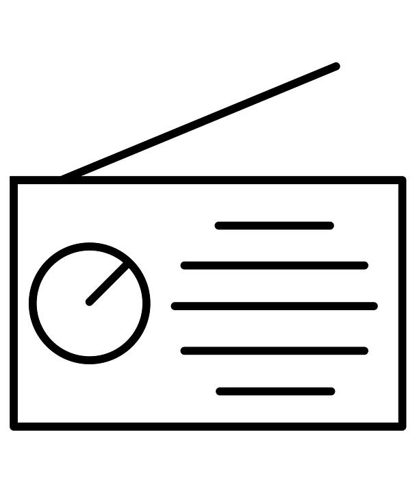 Smart Home Symbol, Thin Line, Black And White, Icon