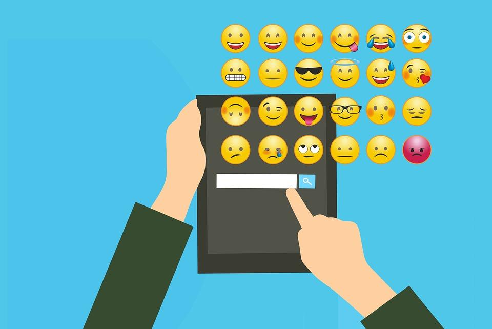 Social Media, Emoticon, Smart Phone, Icon