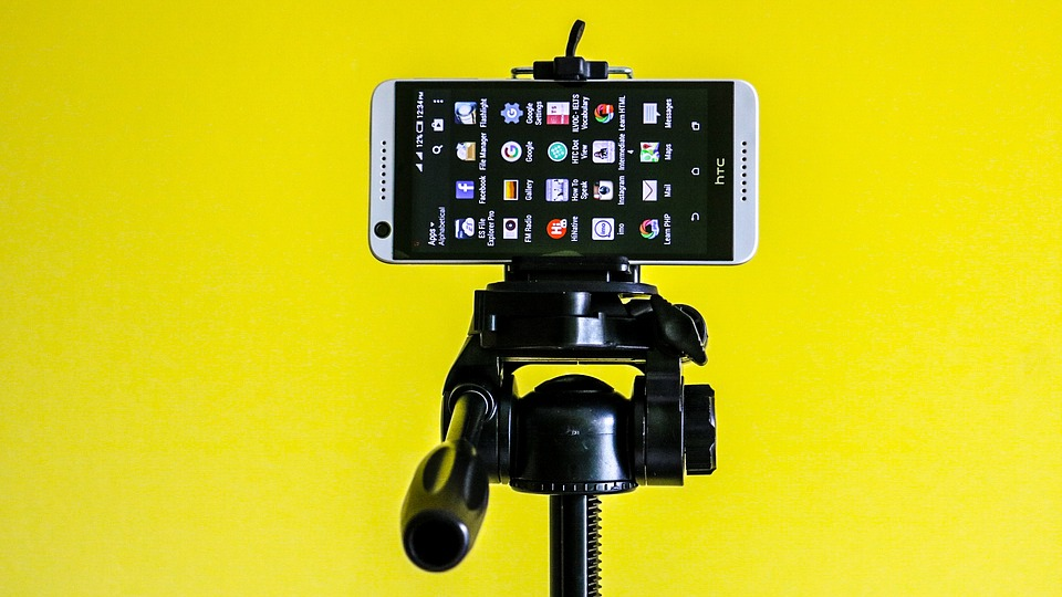 Htc, Mobile, Tripod, Android, Smartphone