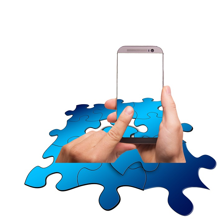 Puzzle, Share, Smartphone, Mobile Phone, Touch, Finger