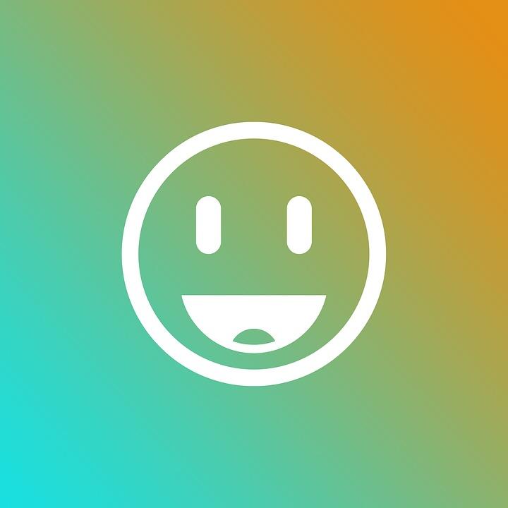 Emoji, Gradient, Smile