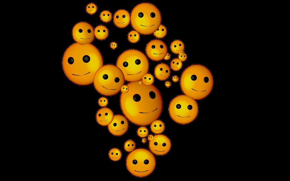 Smilies, Smiley, Emoticon, Cartoon, Happy