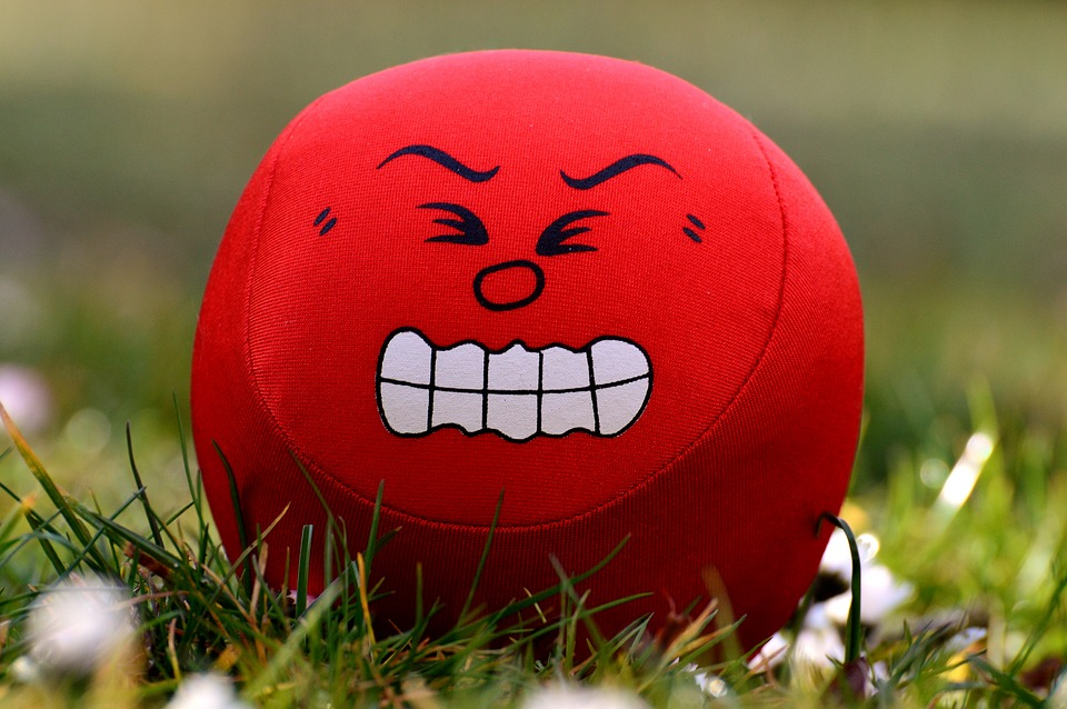Smilies, Emotions, Angry, Ball, Funny, Cute, Smiley