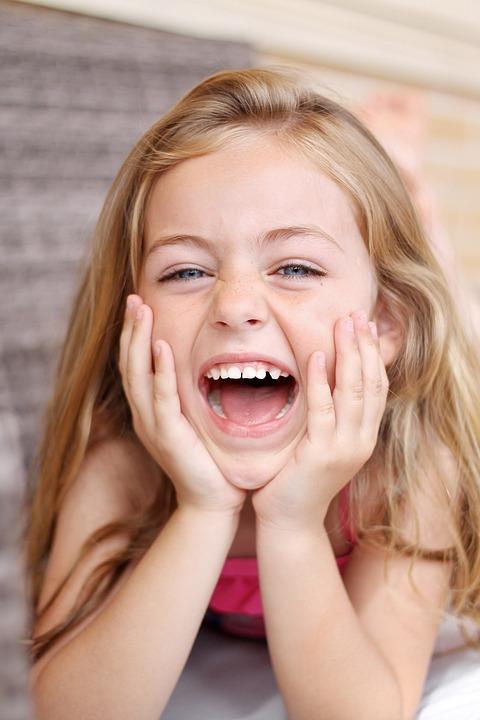 Children, Smile, Eyes, Happy, Smiling, Joy, Tender